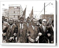 March Through Selma Acrylic Print