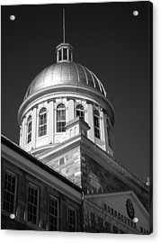 Marche Bonsecours  Acrylic Print by Juergen Weiss