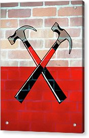 Marching Hammers The Wall Acrylic Print