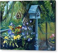 Marcia's Garden Acrylic Print