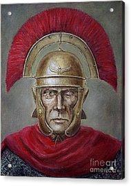 Marcus Cassius Scaeva Acrylic Print by Arturas Slapsys