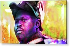 Marcus Garvey Acrylic Print