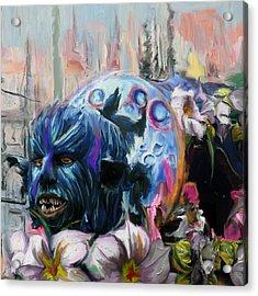 Mardi Gras 236 1 Acrylic Print