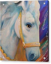Mardi Gras Horse Acrylic Print