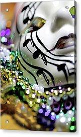 Mardi Gras I Acrylic Print by Trish Mistric