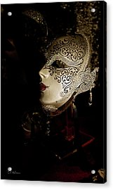 Mardi Gras Mask Acrylic Print by Christopher Holmes