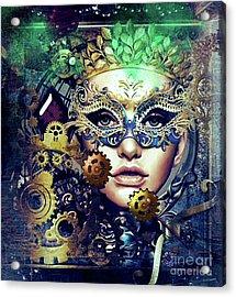 Mardi Gras Mask Acrylic Print