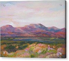 Marfa Skies /sold Acrylic Print
