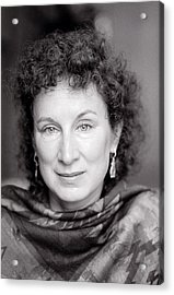 Margaret Atwood Acrylic Print by Shaun Higson