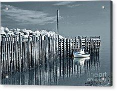 Margaretsville Wharf  Acrylic Print