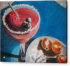 Margarita Anyone Acrylic Print by Terry Godinez