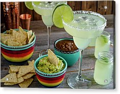 Margarita Party Acrylic Print