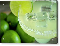 Acrylic Print featuring the photograph Margaritas Anyone by Teri Virbickis