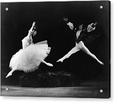 Margot Fonteyn 1919-1991, And Alexis Acrylic Print by Everett