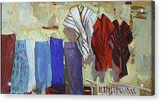 Maria Francesco's Weavings Acrylic Print