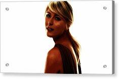 Maria Sharapova 5c Acrylic Print by Brian Reaves