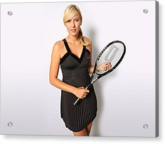Maria Sharapova No.1 Tennis Player Acrylic Print