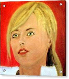 Maria Sharapova  Acrylic Print by Peter Gartner