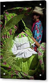 Mariachi Dancer 3 Acrylic Print by Swift Family