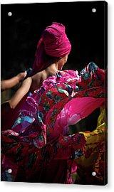Mariachi Dancer 4 Acrylic Print by Swift Family