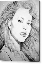 Mariah Acrylic Print by Terry Groehler