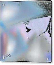 Marion Abby Acrylic Print by Iris Gelbart