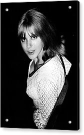 Acrylic Print featuring the photograph Marianne Faithfull 1964 by Chris Walter