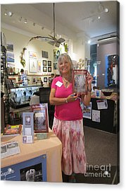 Acrylic Print featuring the photograph Marie And The Recordkeeper by Marie Neder