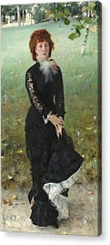 Marie Buloz Pailleron Acrylic Print by John Singer Sargent