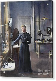 Marie Curie (1867-1934) Acrylic Print by Granger