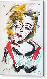 Marilyn Abstract Acrylic Print