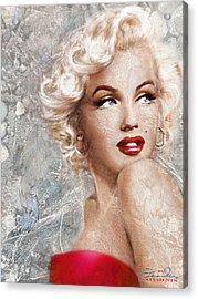 Marilyn Danella Ice Acrylic Print