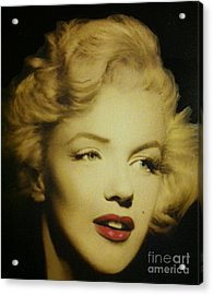 Acrylic Print featuring the photograph Marilyn by Elizabeth Coats