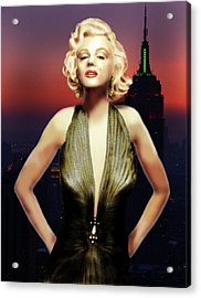 Marilyn Forever Acrylic Print