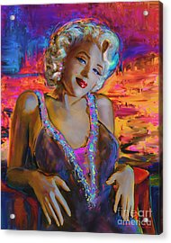 Marilyn Monroe 126 G Acrylic Print