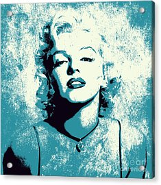 Marilyn Monroe - 201 Acrylic Print by Variance Collections