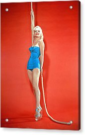 Marilyn Monroe, C. 1950s Acrylic Print by Everett