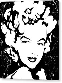 Marilyn Monroe Acrylic Print by Curtiss Shaffer