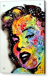 Acrylic Print featuring the painting Marilyn Monroe II by Dean Russo