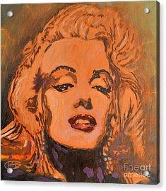 Marilyn Monroe Acrylic Print by Kip Decker