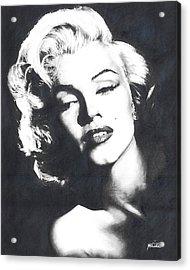 Marilyn Monroe Acrylic Print by Maciel Cantelmo