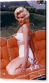 Marilyn Monroe Acrylic Print by The Titanic Project