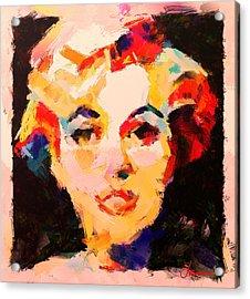 The Girl From Last Night Dream Acrylic Print