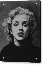 Marilyn Acrylic Print by Steve Hunter