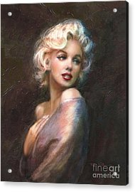 Marilyn Ww Classics Acrylic Print by Theo Danella