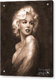 Marilyn Ww Sepia Acrylic Print