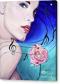 Marilyns Music In The Wind Acrylic Print