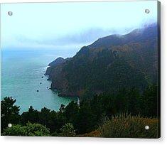 Marin Headlands In San Francisco California Acrylic Print by Jen White