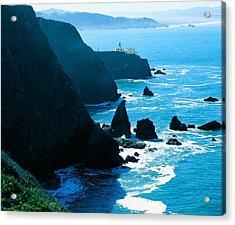 Marin Headlands San Francisco Bay Acrylic Print