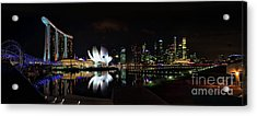 Marina Bay Sands Acrylic Print